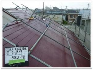 施工事例⑭屋根外壁塗装・トイレとインターフォン交換 工事‐三鷹市