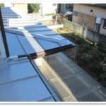 施工事例⑬雨樋改修・屋根重ね葺(カバー工法)工事を追加いたしました