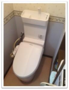 おトイレ交換後