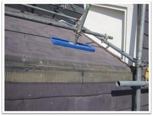 屋根棟板金撤去後