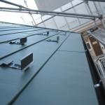 ガルバリウム鋼板屋根葺替と雨樋交換