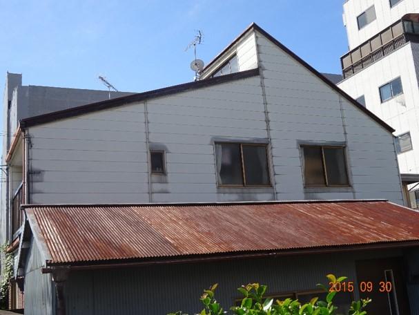 外壁北側塗装前