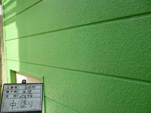 外壁②中塗り
