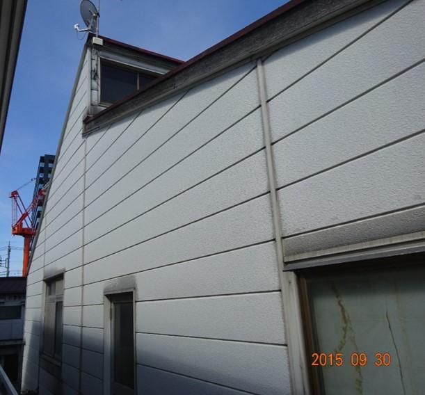 外壁南側塗装前