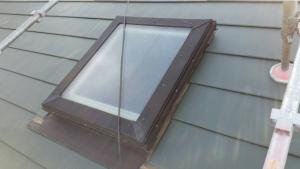 屋根天窓廻り葺き替え後