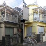 施工事例㉛火災保険適用・外壁塗装・ハウスクリーニング(自己負担0円)を追加しました